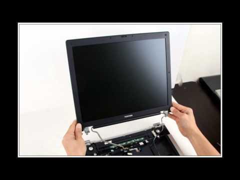 Toshiba Satellite A80 노트북 분해(Laptop disassembly)