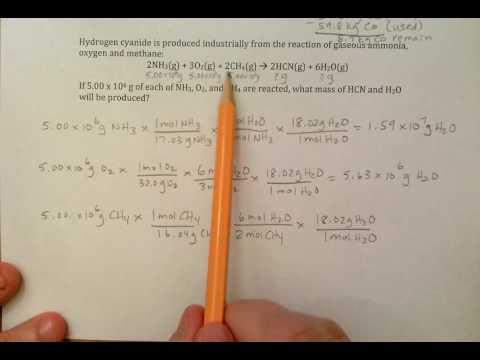 #10 Limiting Reactant with 3 Reactants