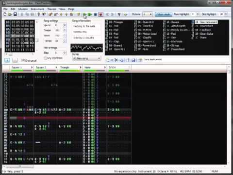 (8-bit NES) Hacking to the Gate – STEINS;GATE OP