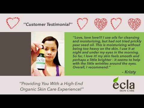 Ecla Prickly Pear Seed Oil - Kristy review 2016