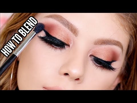 HOW TO BLEND YOUR EYESHADOW LIKE A PRO   TIPS & TRICKS FOR BEGINNERS