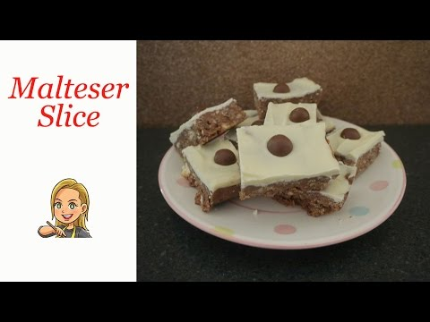 Malteser Slice - No Bake