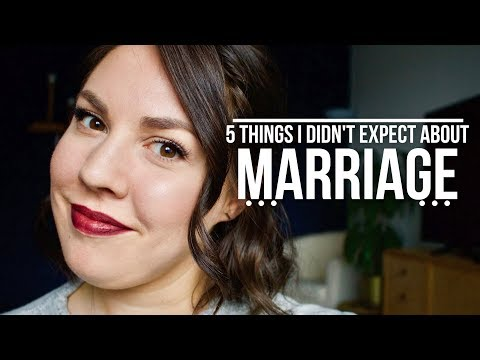 5 Things I Didn't Expect About MARRIAGE I AlyAesch