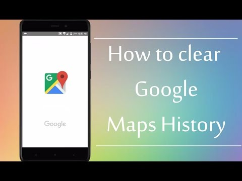 How to Clear Google Maps History on Android