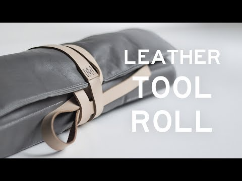 Making a Leather Tool Roll