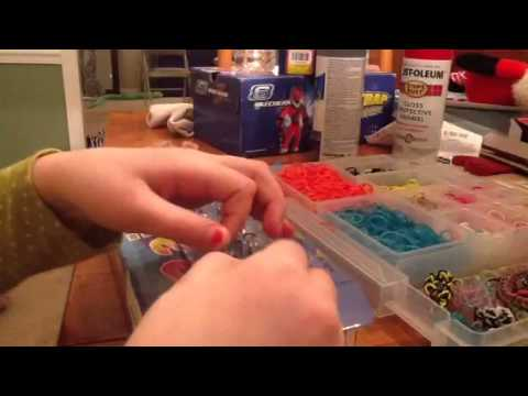 Rainbow Loom:How to make a rainbow loom fishtail