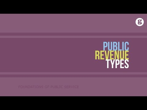 Public Revenue Types