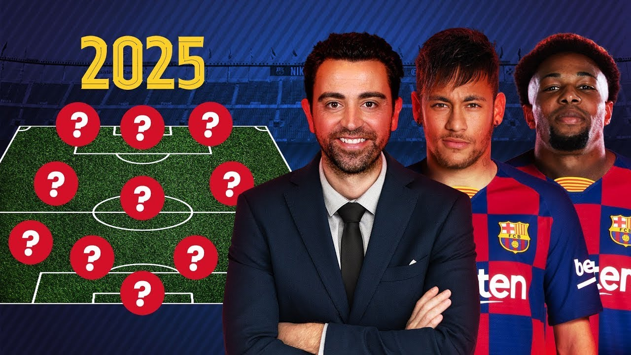 What BARCELONA is going to look like in 5 years? BARCELONA-2025: LINE-UP, TRANSFERS