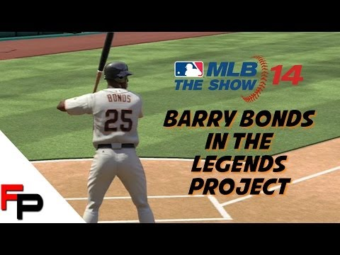 MLB 14 The Show - Barry Bonds & the Legends Roster Project - Feedback Welcomed