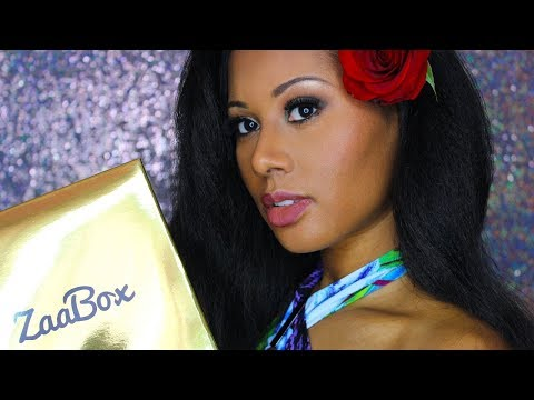 ZaaBox Spa Unboxing!  Black Owned!