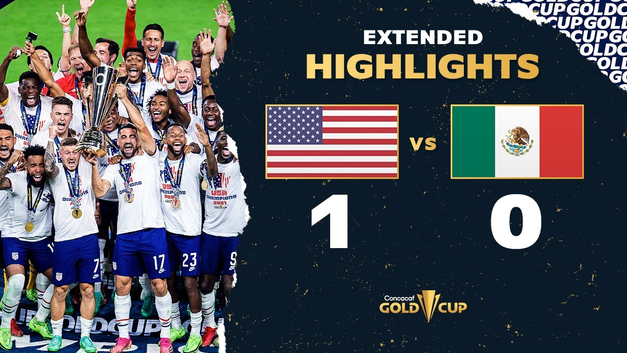 Extended Highlights: USA 1-0 Mexico - 2021 Gold Cup Final