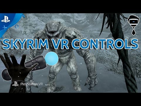 Skyrim VR Full Locomotion Controls Explained!!! Oh & Farpoint has 15 New Weapons Coming ;)