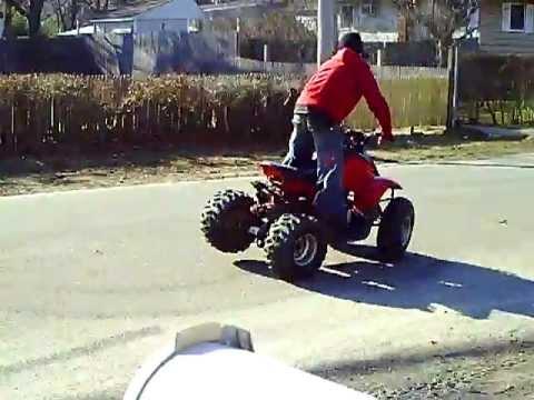 90cc 2 stroke ATV quad