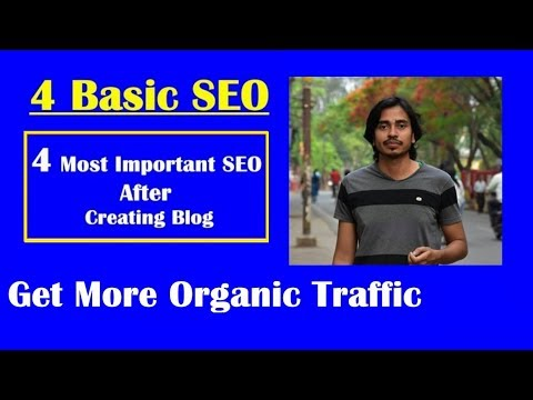 4 Basic SEO  SEARCH ENGINE OPTIMIZATION for Blog