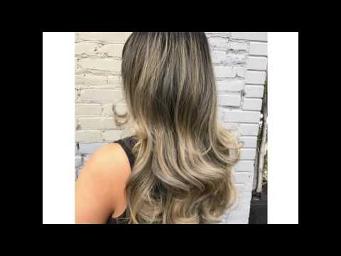 Balayage/Ombré Back Comb and Highlight technique