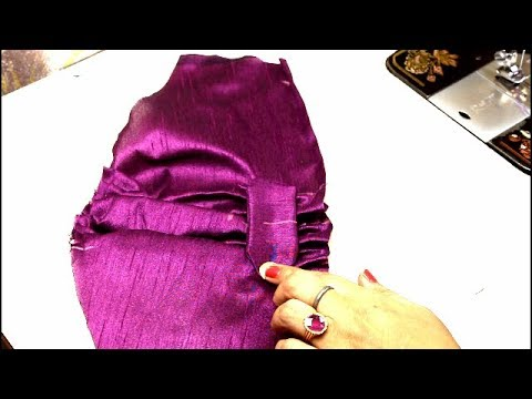 Latest Designer Sleeve Designs Very Easy Method, Sleeve Design Cutting and stitching