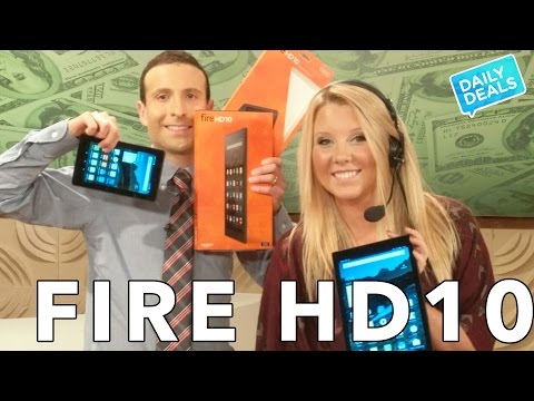 Amazon Fire Tablets 2015, Fire HD 10 Review, Unboxing,  Fire vs iPad ► The Deal Guy