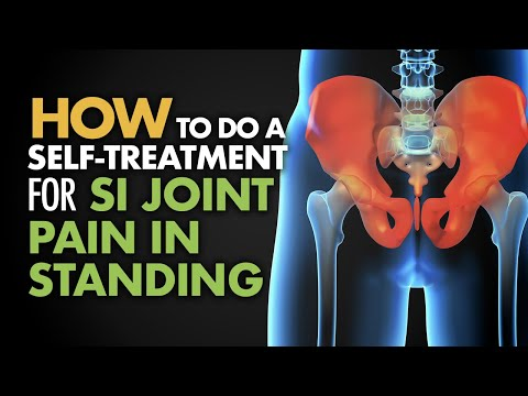 How to Do a Self-Treatment for SI Joint Pain in Standing
