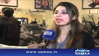 Sialkot Ladies Gym - News package - 29 Dec 2015