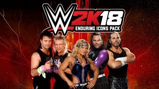 WWE 2K18 Enduring Icons Pack Out Today