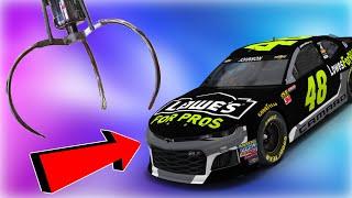 WON A REAL NASCAR STOCK CAR FROM AN ARCADE
