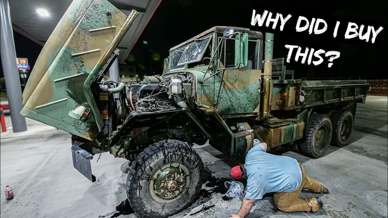 I Bought a 6x6 Army Truck and it went Terrible.