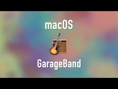 macOS: GarageBand