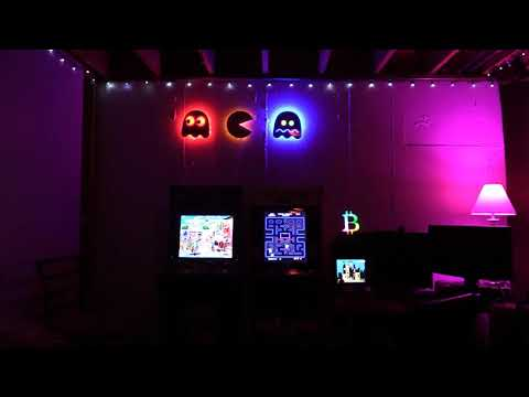 Arcade1UP with Hue