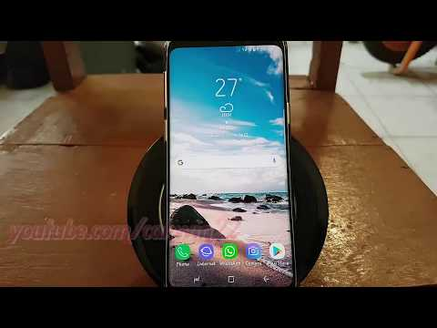 Samsung Galaxy S9 : How to Set Always on Edge Lighting (Android Oreo)