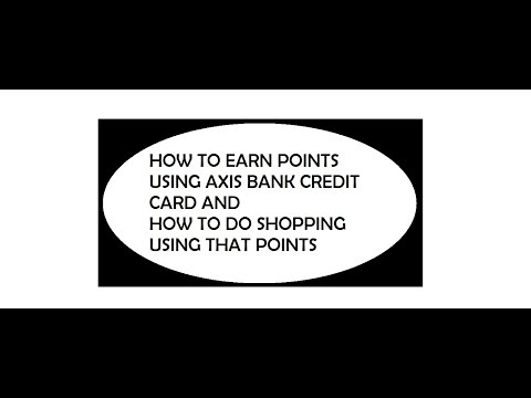 axis bank credit card points