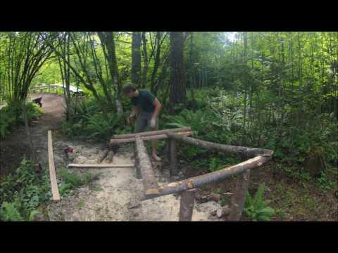 Bmx dirt jump trail build-Gopro
