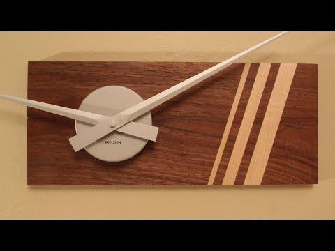 DIY Modern / Minimalist Wooden Clock
