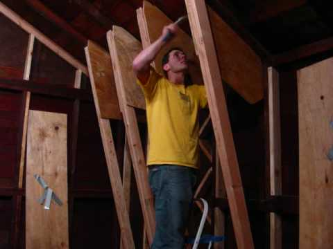 Building a Rock Climbing Wall in the Garage - Part 1 - Wall Junkies -