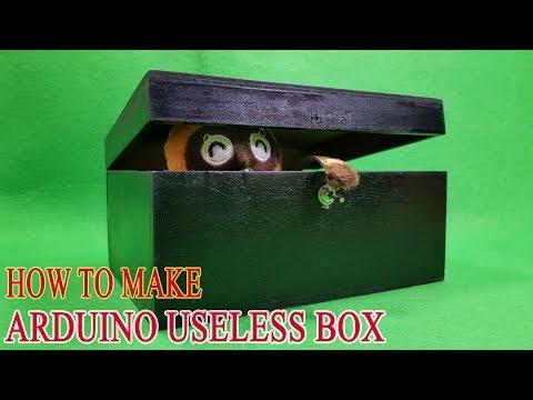 DIY Useless Box with Arduino