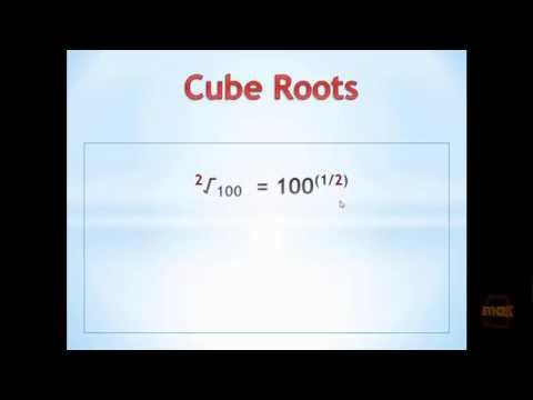 Python Exercise 1.3 - Cube Root