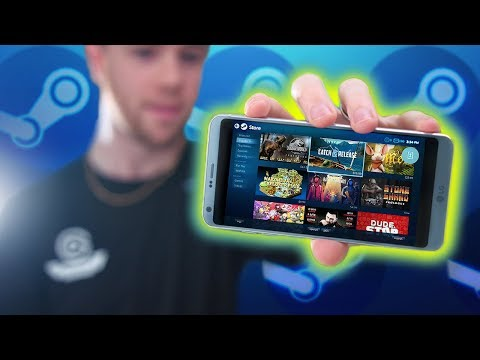Play ALL Steam Games on Your Phone!? Steam Link App