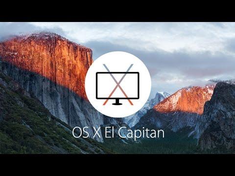 El Capitan OS X Set Up External Monitor with your Mac