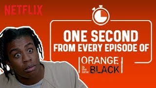 One Second From Every Episode of Orange Is The New Black | Netflix