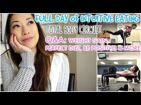 Day of Intuitive Eating| Q&A, Balanced Lifestyle Advice, & Total Body Workout