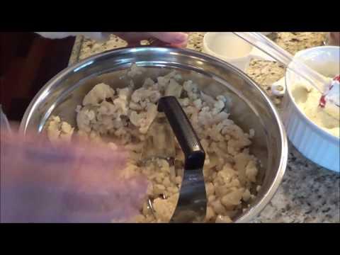 Low Carb Ham and Cauliflower Casserole