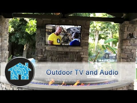 Outdoor TV and Audio system