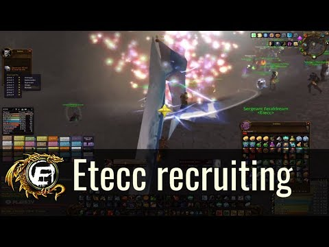 Etecc Raiding Guild Recruitment Video | Lights Hope Project Classic wow / wow classic servers