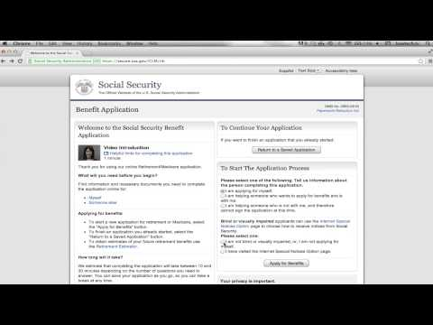 How to Apply for Social Security Retirement Online