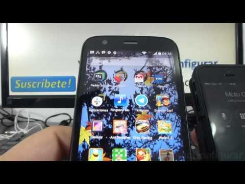 Cómo crear ringtones mp3 Android KitKat Motorola moto g X T1032 comoconfigurar
