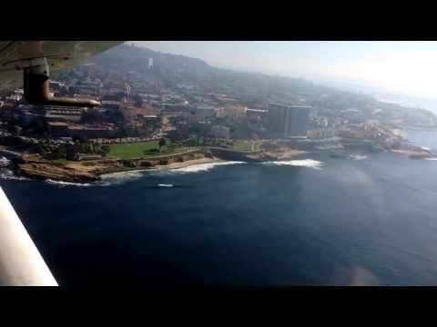 Spectacular views, flying around San Diego, Coronado and San Diego Bay