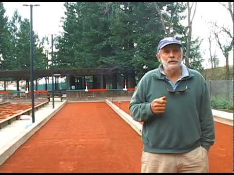 Bocce Ball Courts - Rebuilding