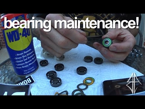 How To Make Your OLD Bearings Faster and Last Longer!