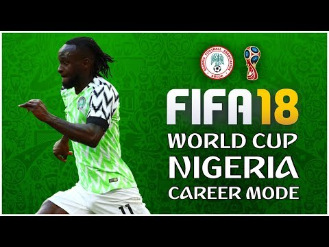 FIFA 18 Nigeria Career Mode: Babak 16 Besar Lawan Perancis #4 (World Cup 2018)