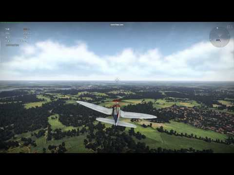 Engaging Ground Target in War Thunder with XBox 360 Controller using Mouse Aim