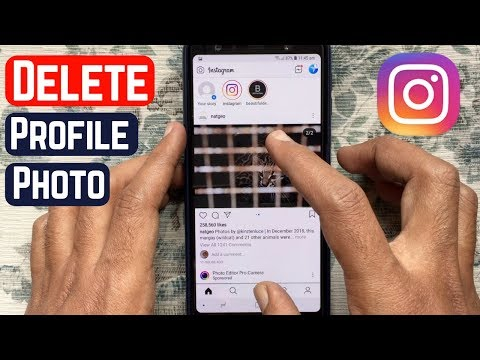 How To Remove Instagram Profile Picture
